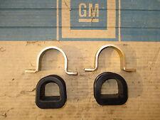 Opel Kadett B/C - Lagergummi außen/innen und Bügel für Lenkgetriebe (Satz)