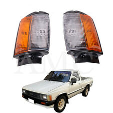 84-88 Toyota Pickup 4X4 Front Corner Indicator Turn Light Hilux Mk2 LN RN YN Blk
