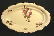 ROSENTHAL CHINA GERMANY POMPADOUR MOSS ROSE IVORY RELISH DISH (2 available)