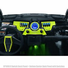 Dash Panel Set of 3 Inc. Switch Lime Squeeze Powdercoated for Polaris RZR XP1000