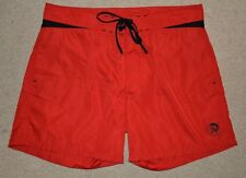 Diesel mens brand new,red,pool,swimming,summer,beach,board trunks,shorts,size 30
