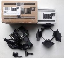 Lowel I-01 I-Light Set w/Cigarette Plug + IP-20 VIP 4-way barndoor