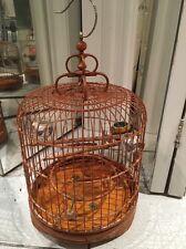 ~Vintage~ Wooden Asian Bird Cage