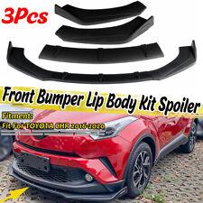 Front Bumper Spoiler Splitter For Toyota Corolla Camry SE XSE CHR RAV4 4Runner