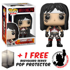 FUNKO POP MOTLEY CRUE TOMMY LEE VINYL FIGURE + FREE POP PROTECTOR