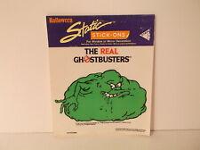 1987 Dakin Halloween Static Stick-Ons Ghostbusters Bloated Slimer Window Cling