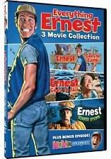 Everything Ernest - Ernest Goes to Camp, Ernest Goes to Jail and Ernest Scared