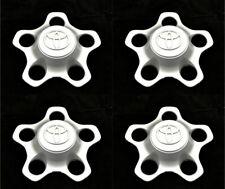 """2001-2007 TOYOTA HIGHLANDER 16"""" 5-SPOKE STEEL WHEEL CENTER HUB CAPS SET NEW OEM"""