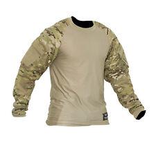 Valken V-Tac Zulu Tactical Paintball Jersey Combat Shirt V-Cam Camo 2XL XX-Large