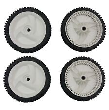 (4) AYP Craftsman Mower Front Drive Wheels for 194231X460 NEW GENUINE