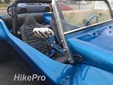 VW Dune Buggy Custom CHROME Billet Aluminum Skeleton Hand Mirrors + manx mounts