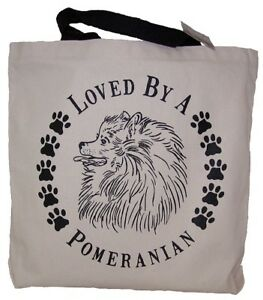 Pomeranian Tote Bags New  MADE IN USA Lot of 10