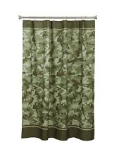Forest Camo Fabric Shower Curtain, New In Package