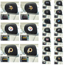 New NFL Pick Your Teams Automotive Gear Car Truck Headrest Covers 2pc Set