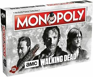 Winning Moves Monopoly Walking Dead AMC Edition Board Game