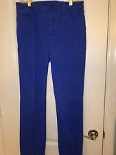 NYDJ Not Your Daughter's Jeans Skinny Leg Jeans, Royal Blue, Size 4, NWOT