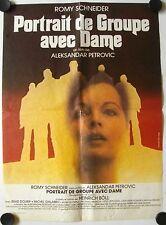 Affiche Cinéma PORTRAIT GROUPE AVEC DAME 1976 PETROVIC Schneider - 40x60