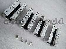 4 pcs SBR20LUU Dual Rounter Block Bearing for SBR20 Linear rail rod support