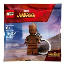 Lego Super HeroesTeen Groot Key Chain 5005244 Polybag BNIP