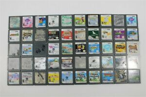 Nintendo DS Lot of 50 Games -Discounted- Pokemon Soul Silver, Harvest Moon, Petz