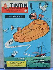 Journal Tintin n°600, 21 avril 1960, Spaghetti, dessin Attanasio