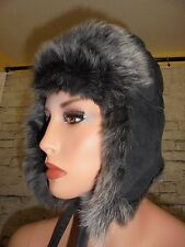 J CREW SHEARLING TRAPPER HAT NWT #80642 FOR WINTER SIZE:S/-M