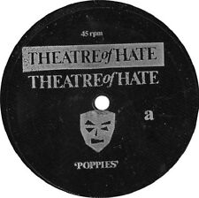 """Theatre Of Hate / Puber Kristus - Poppies / The Gasstation - 7"""" FLEXI - VG+"""