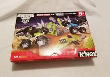 K'nex Monster Jam Trucks - Grave Digger vs Son-Uva Digger - 128 pcs Building Set
