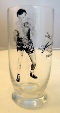 JIMMY CARRUTHERS UNDEFEATED  WORLD'S BANTAMWEIGHT CHAMPION 250ml. GLASS SIGNED