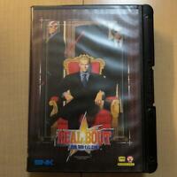 Neo Geo AES Real Bout Fatal Fury Garou Densetsu SNK NeoGeo FedEx