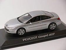PEUGEOT 407 Coupe PLATA, 1:43 , NOREV