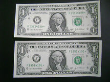 2003 SERIES A 2 SEQUENTIAL FR1930F *STAR NOTES* $1  FED.RESERVE NOTE/ATLANTA /CU
