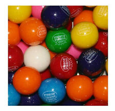 "Dubble Bubble ASSORTED Gumballs Bulk 1"" 24mm 5lbs Approx 275pcs Gum Balls"