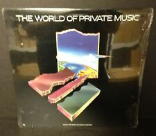 The World of Private Music - FACTORY SEALED LP Various Artists