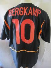 Holland 2002-2004 Bergkamp #10 Away Football Shirt Size Large /34436