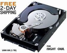 NEW 1000GB 1TB Hard Drive Internal SATA 3.5 Night OWL DVR Compatible