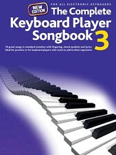 The Complete Keyboard Player: Songbook 3 New Edition Sheet Music Piano 014043104