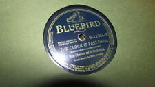 BOB CHESTER BLUEBIRD 78 RPM RECORD 11384 HARLEM CONFUSION/CLOCK IS FAST