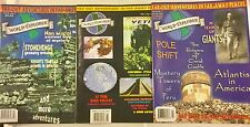 3 - WORLD EXPLORER Mags Atlantis Giants Bigfoot Stonehenge Sphinx Giza Pyramids