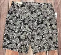 Gap Women Size 6 Black & White Shorts. Khakis By Gap. 9 Inch Bermuda Short. Nwt