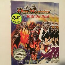 Duel Masters - Rule The Duel : Vol 1 (DVD, 2005) - exrental, disk only, no case