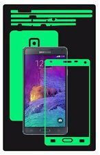 Glow in the Dark Skin Protector,Full Body Vinyl Decal Case Wrap, Samsung Note 4