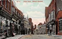 POSTCARD  HERTS  BISHOPS STORTFORD  POTTER STREET -    Circa 1910 - RP