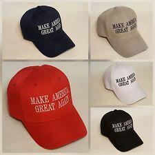 424763392b1 MAKE AMERICA GREAT AGAIN Embroidered Baseball Hat Cap OSFM  14 Colors  US  SELLER