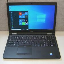 """New listing Dell Latitude E5550 Intel Core i5 5300U 2.3Ghz 8Gb 256Gb Ssd 15"""" Win10 1920x1080"""