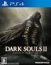 DARK SOULS 2 SCHOLAR OF THE FIRST SIN SONY PS4 PLAYSTATION JAPANESE NEW JAPANZON