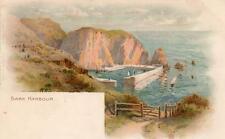 Sark Harbour EWH pc used 1906 C W Faulkner