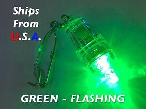 Deep Drop LED fishing light, GREEN FLASH, Grouper, Swordfish, FREE ship from USA