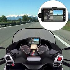 "Moto 3 ""LCD Caméscope Enregistreur Dash DVR Double Caméra portatif PB"