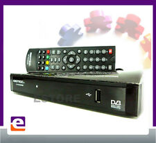 DGTEC HD TV SET TOP BOX with USB PVR AVI DIVX PLAYER & BASIC INTERNET HDMI
